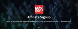 maxbounty affiliate signup