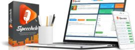 speechelo and laptop